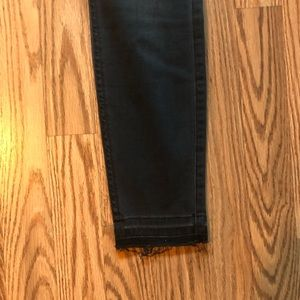 Jeans - 7 for all mankind skinny ankle jeans- dark gray